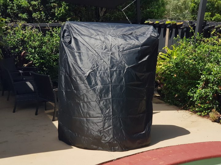 Gaucho Argentinian Parilla Grill Cover Full View